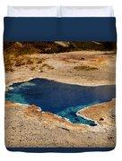 Blue Star Spring Duvet Cover