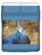 Blue Stare Duvet Cover