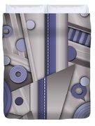 Blue Steel Duvet Cover