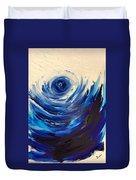 Blue Storm Duvet Cover