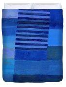 Blue Stripes 7 Duvet Cover