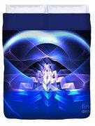 Blue Summit Duvet Cover