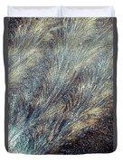 Blue Supernova - Hoarfrost Duvet Cover
