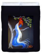 Blue Tail Fantasy Duvet Cover