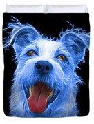 Blue Terrier Mix 2989 - Bb Duvet Cover