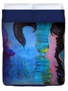 Blue Thoughts Duvet Cover
