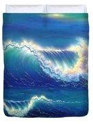 Blue Thunder Duvet Cover
