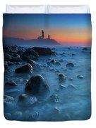 Blue Tide Duvet Cover