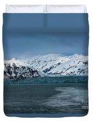 Blue Tidewater Glacier  Duvet Cover