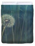 Blue Tinted Duvet Cover by Priska Wettstein