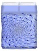 Blue Tip Whirlpool Duvet Cover