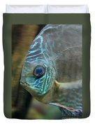 Blue Tropical Fish Duvet Cover