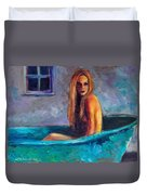 Blue Tub Study Duvet Cover