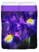 Blue Velvet Duvet Cover