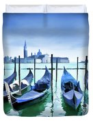 Blue Venice Duvet Cover