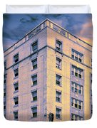 Blue Violet Belle Belle Shore Apt Hotel Duvet Cover