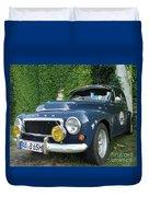Blue Volvo Duvet Cover