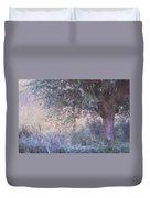 Blue Willow. Monet Style Duvet Cover