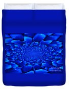 Blue Windows Abstract Duvet Cover
