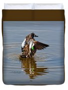 Blue Winged Teal 4 Duvet Cover
