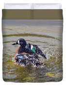 Blue Winged Teal 5 Duvet Cover