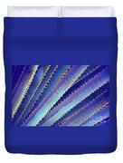 Blue Yucca Duvet Cover
