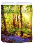 Bluebell Blessing Duvet Cover