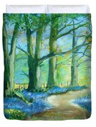 Bluebell Walk Duvet Cover