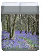 Bluebell Wood Effingham Surrey Uk Duvet Cover