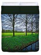 Bluebells In England Duvet Cover