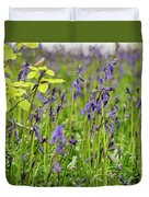 Bluebells In Judy Woods Duvet Cover