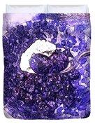 Blueberries For Breakfast Duvet Cover
