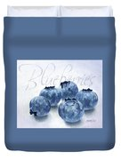 Blueberries Duvet Cover