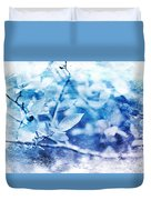 Blueberry Blues Duvet Cover