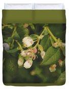 Blueberry Bush Duvet Cover