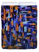 Blueberry Cobbler Duvet Cover