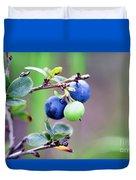 Blueberry Duvet Cover
