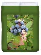 Blueberry Group Duvet Cover