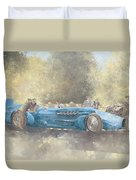 Bluebird And Ghost Duvet Cover