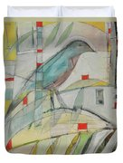Bluebird Of Duvet Cover