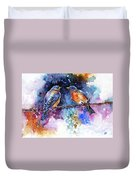 Bluebirds Duvet Cover