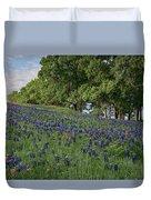 Bluebonnet Field Duvet Cover