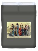Bluegrass Evening Duvet Cover