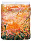 Bluegrass Sunrise - Desert A-left Duvet Cover