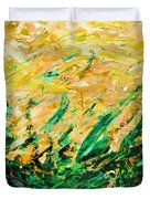 Bluegrass Sunrise - Olive B-right Duvet Cover
