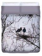 Blueherron Mating Time Duvet Cover