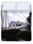 Bluenose II At Historic Properties Halifax Nova Scotia Duvet Cover