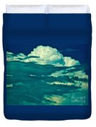 Blues Away Duvet Cover