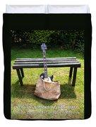 Guitar Blues    Duvet Cover