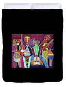 Blues Music Duvet Cover